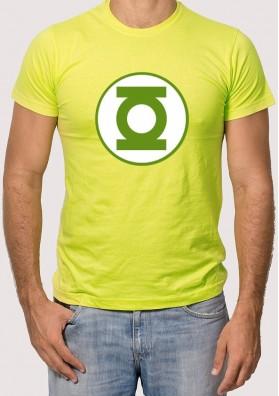 Camiseta Sheldon Linterna Verde