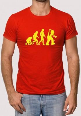 Camiseta Sheldon Evolución