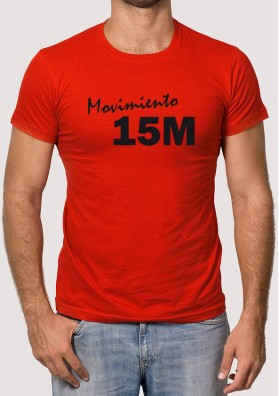 Camisetas Movimiento 15 M