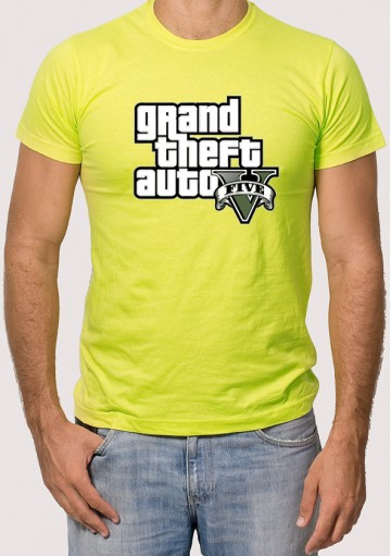 Camiseta 1 Logo GTA 5