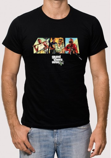 Camiseta GTA 5 Imagen