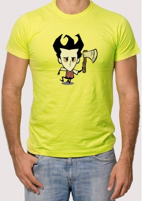 Camiseta Don´t Starve Hacha