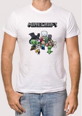 Camiseta Minecraft Personajes