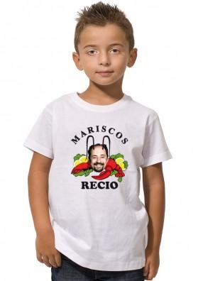 Camiseta Mariscos Recio Niños