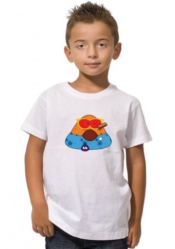 Camisetas Pou Sucio niños