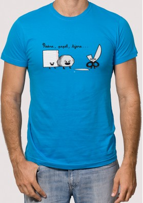 Camiseta Piedra Papel Tijeras