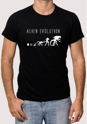 Camiseta Alien Evolucion